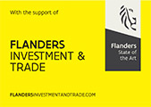 With the support of Flanders Investment & Trade